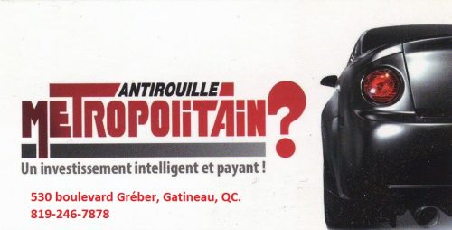 Antirouille Métropolitain