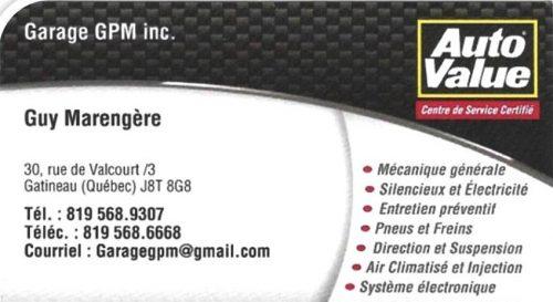 Garage GPM