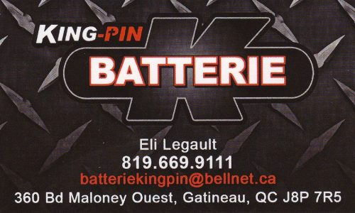 King-Pin Batterie