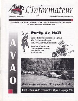 Décembre 2001 janvier 2002