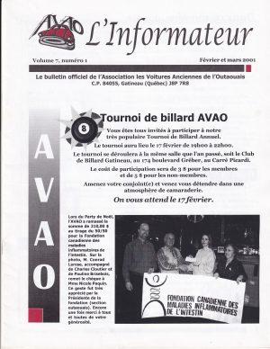 Février mars 2001