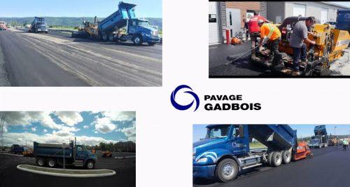 Pavage Gadbois