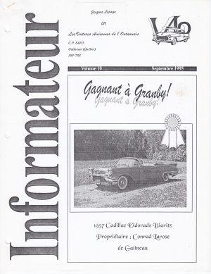 Volume 10 - Septembre 1995
