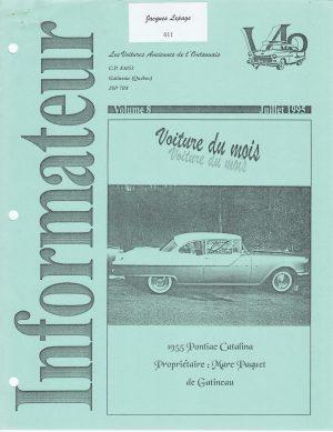 Volume 9 - Aout 1995_Couverture